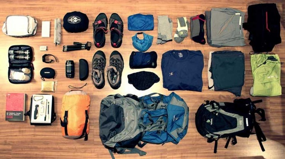 trekking materials for mountain gorilla