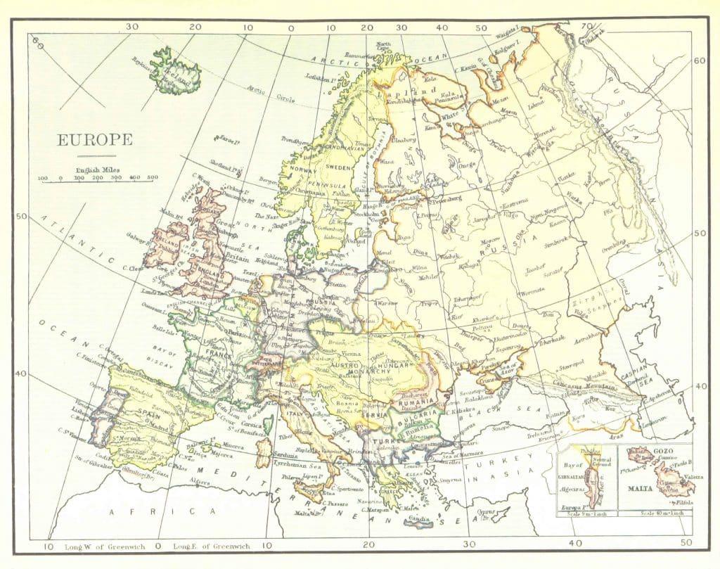 mapa de europa Los 10 principales encuentros de animales en Europa después de Corona
