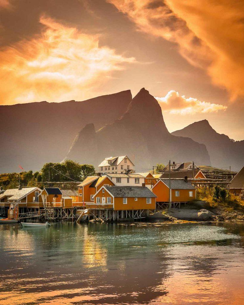 Noruega desde el mar