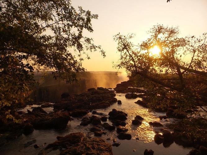 Caída de Victoria en Zambia