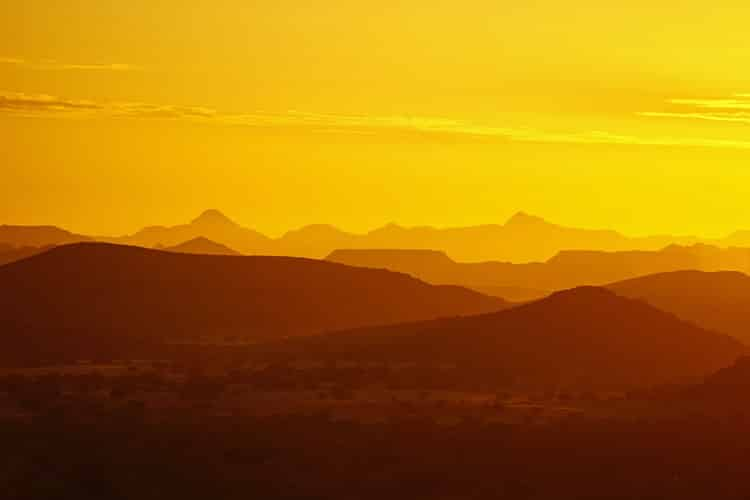 witness the most beautiful sunsets when you visit africa
