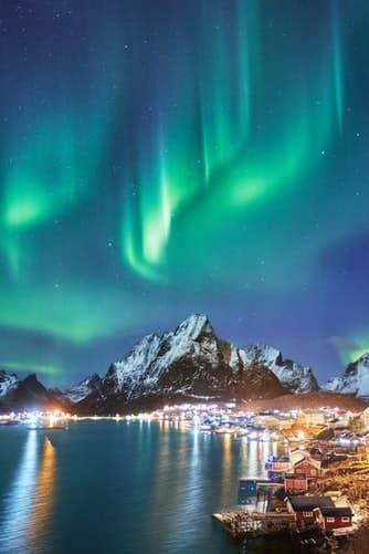 polar lights at orca tour